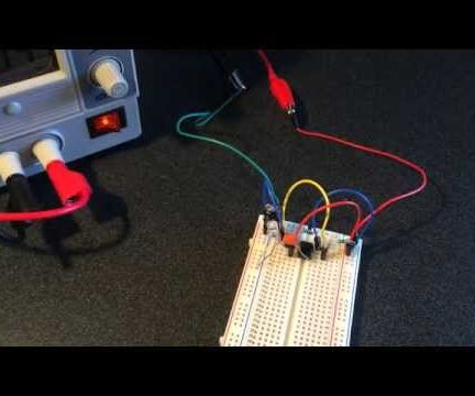 Blinking an LED with a 555 Timer Circuit
