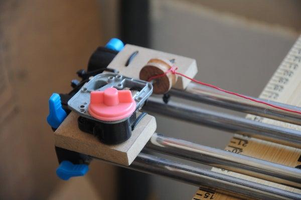 Mechanical 'wind-up' Camera Slider