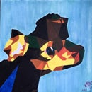 Low Poly Acrylic Painting Art From a Photo