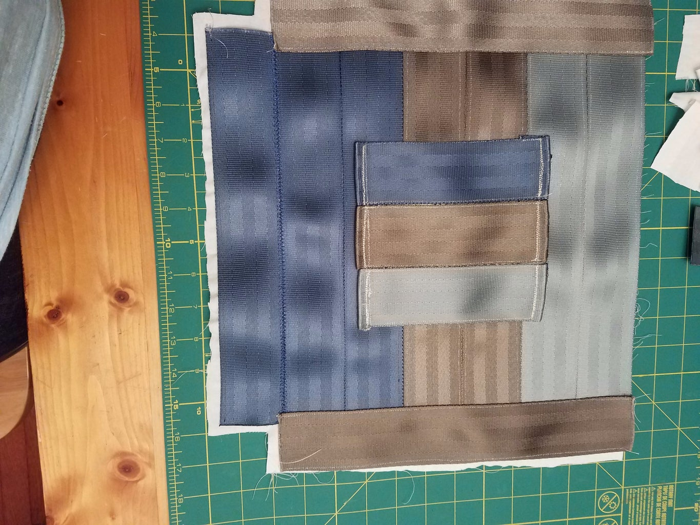 Sew Pocket to Back of Bag
