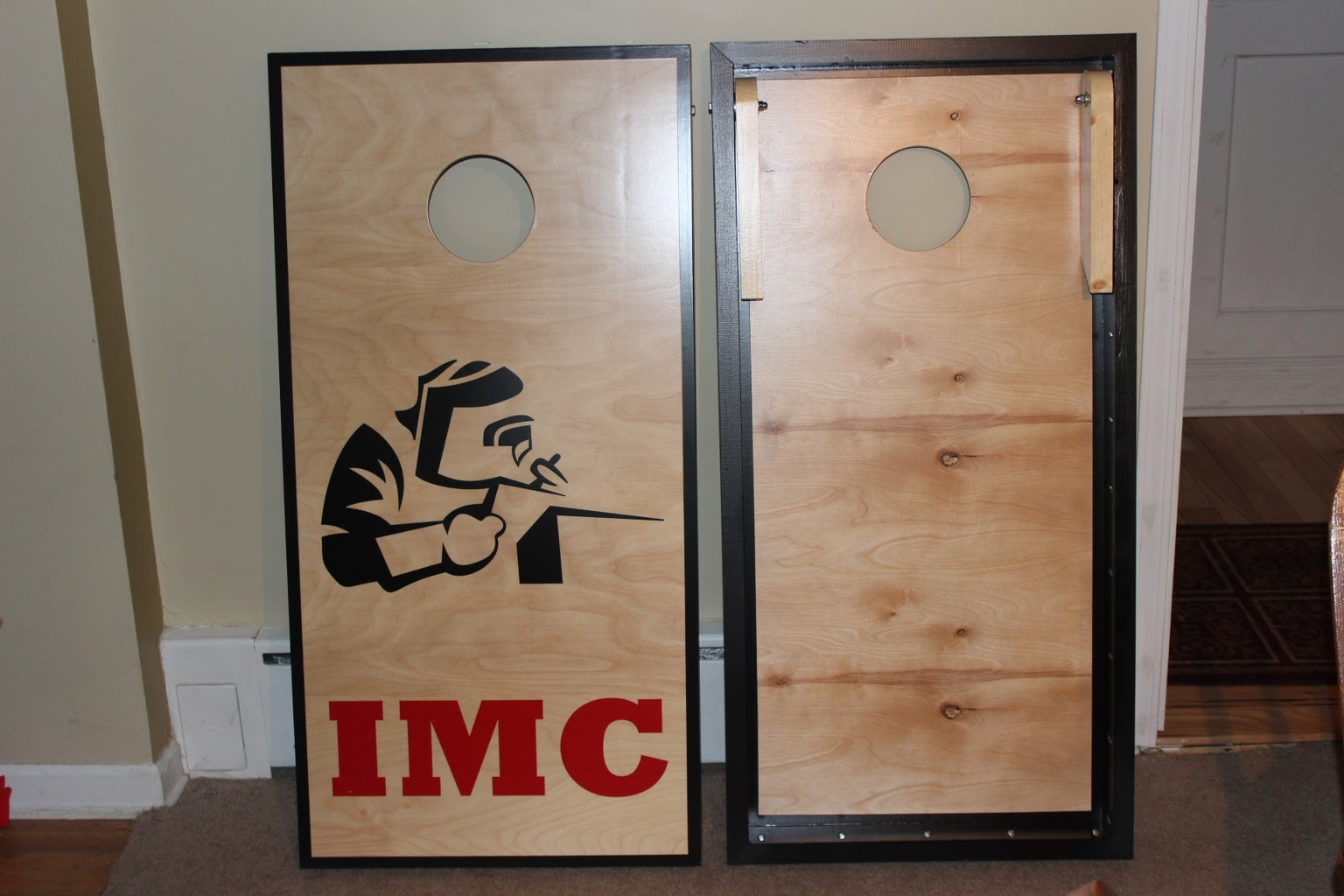 Cornhole Boards Wood Working Style