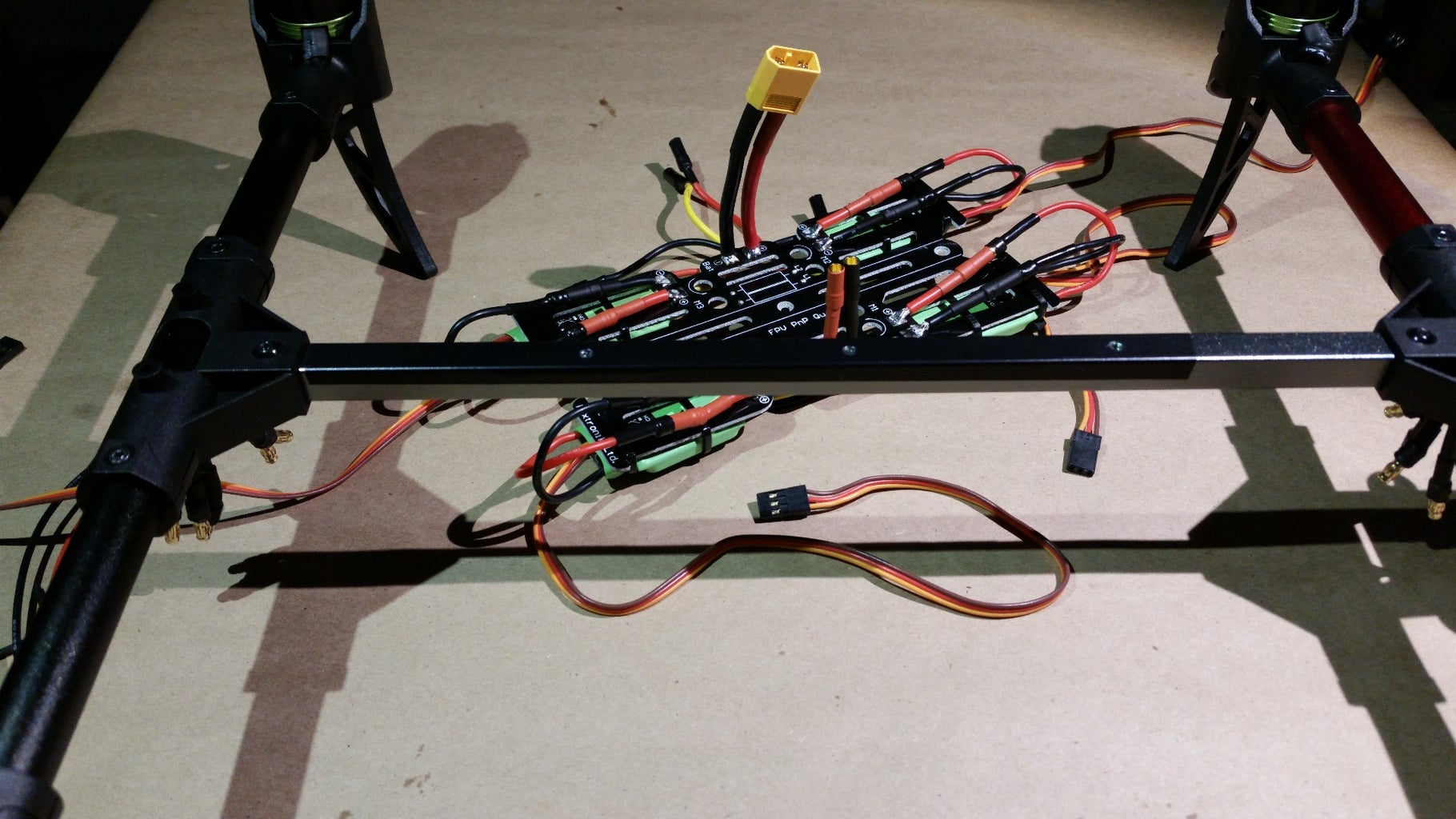 Mount the Power Distribution Board to the Inner Frame