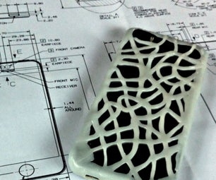 Build an Organic Looking Cell-phone Cover by Hand
