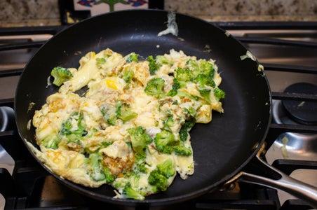 Broccoli & Cheese Scramble