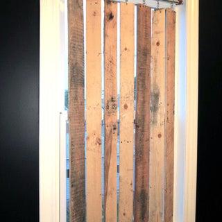 DIY Pallet Wood Vertical Blinds