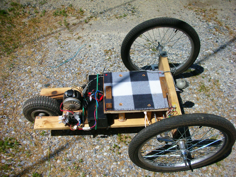 All Terrain Robotic Trike Test Drive