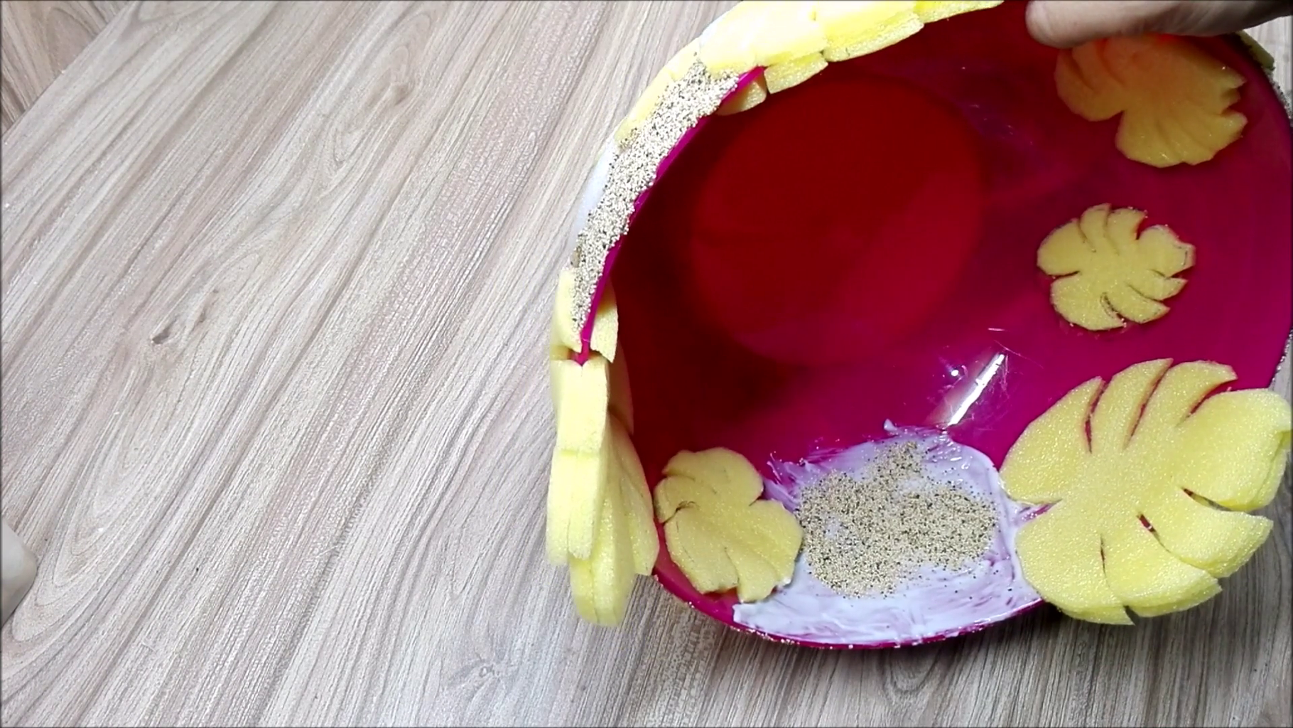 Poppy Seeds With Glue