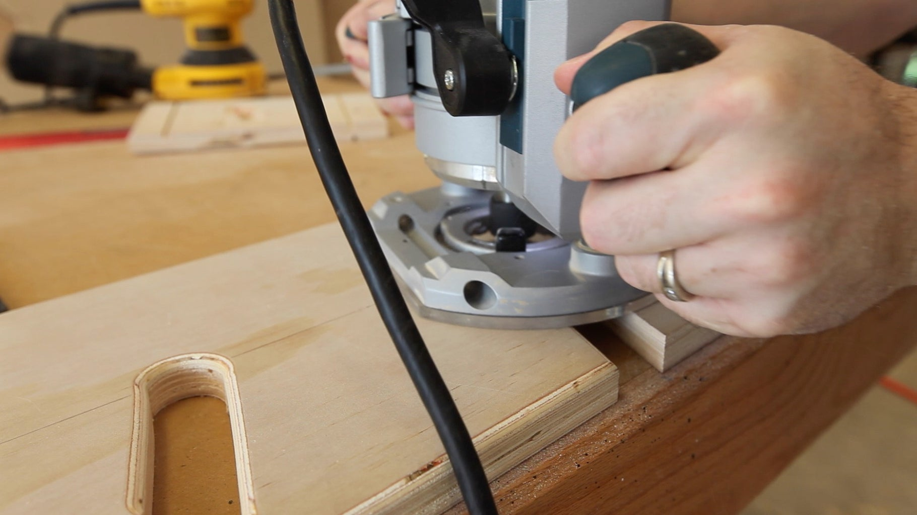 Cutting and Routing the Slots