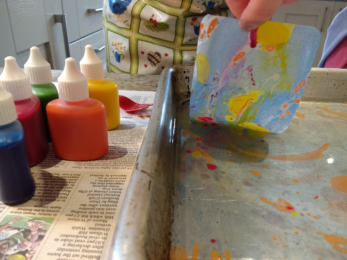 And Start Marbling!