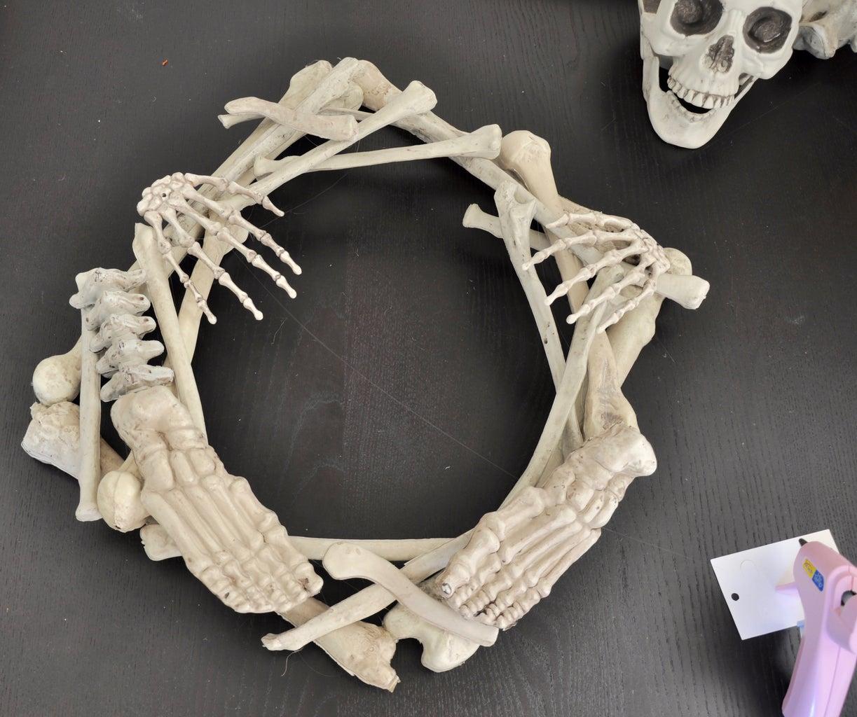 Glue Skeleton Pieces Together