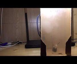 DIY Air Purifier(Purifying Smoke)Using Arduino