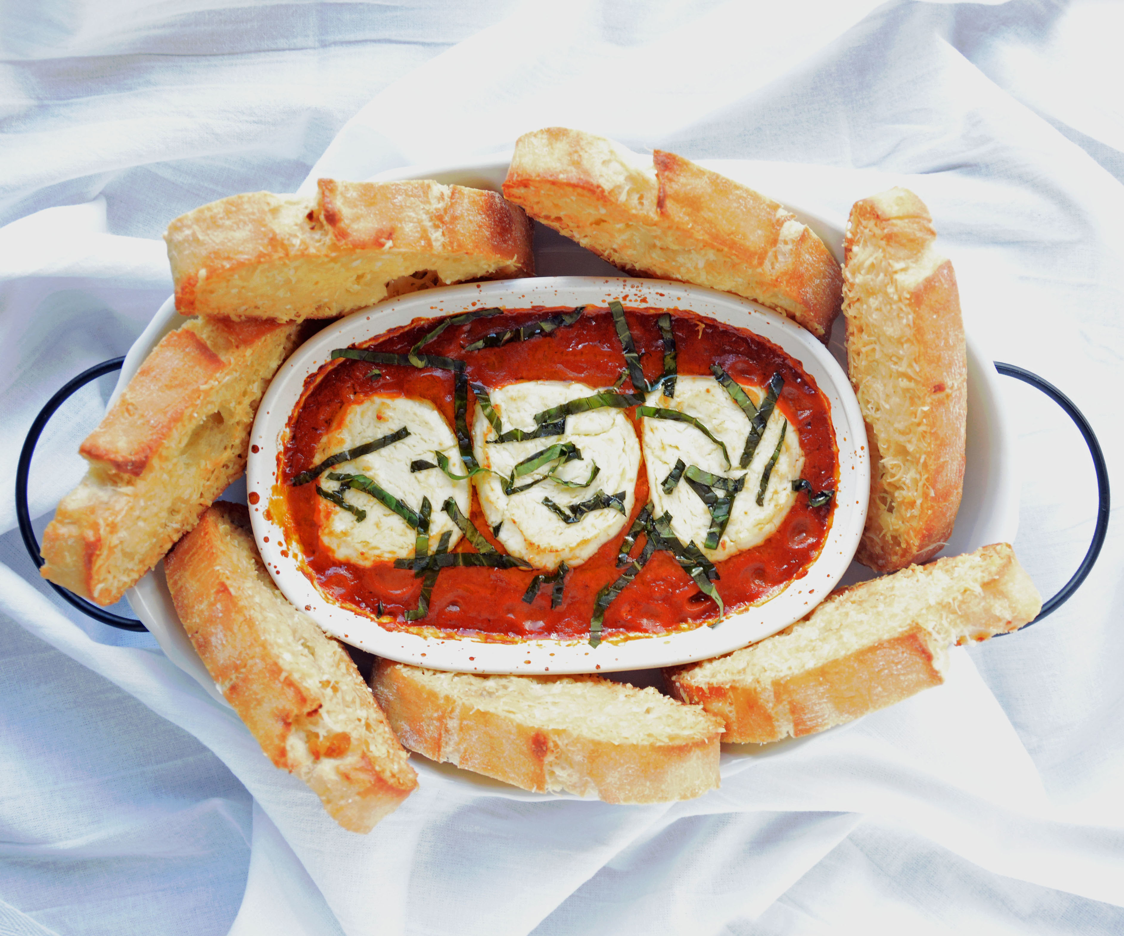 Easy But Impressive! Goat Cheese & Tomato Basil Dip With Trader Joe Ingredients