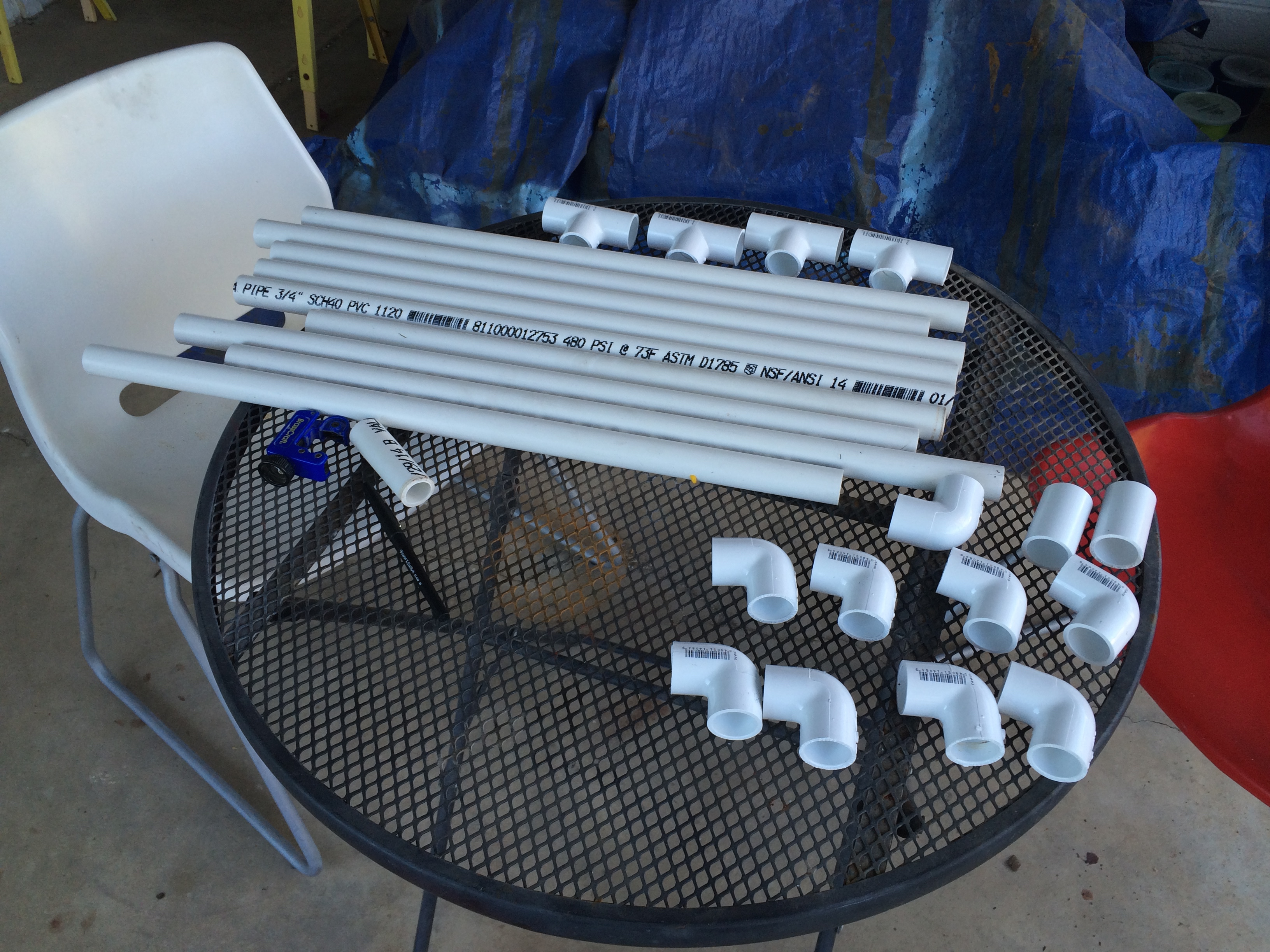 Pvc Pipe Raised Dog Bed 7 Steps With Pictures Instructables