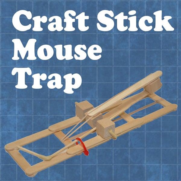 Craft Stick Mouse Trap