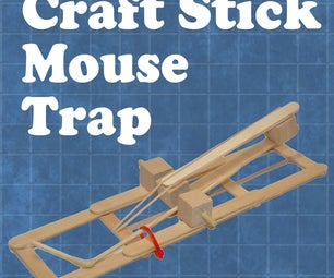 Craft Stick Mouse Trap