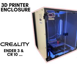 3D打印机外壳构建 Creality CR 10.