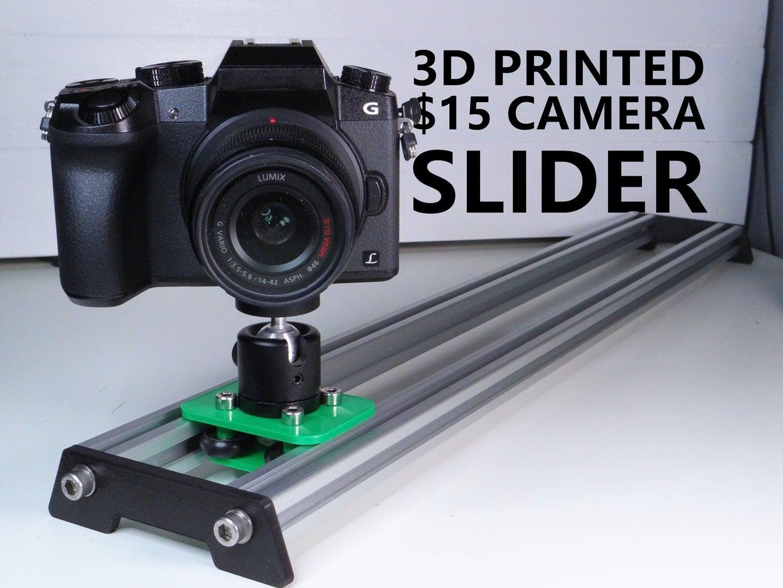 3D Printed $15 Camera Slider
