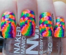 Optical Illusion Dotticure Nail Art