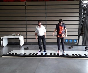 Cheap Expandable Floor Piano