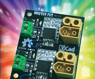 MOSTER FET - Dual 500Amp 40 Volt MOSFET 3d Printer Heated Bed Drivers