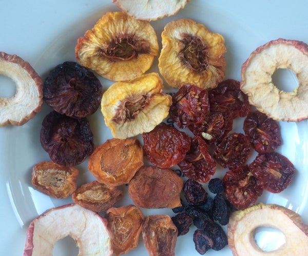 How to Sun Dry Fruit