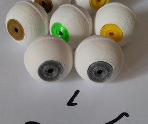 3D-printed Eyeballs