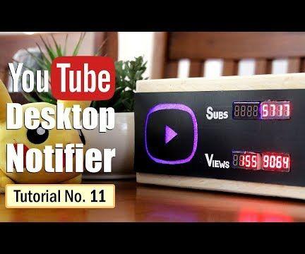 YouTube Desktop Notifier