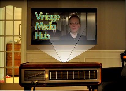 The Pianorgan Vintage Media Hub