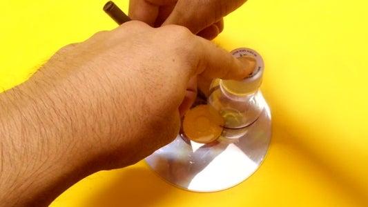 Build Flashlight Reflector