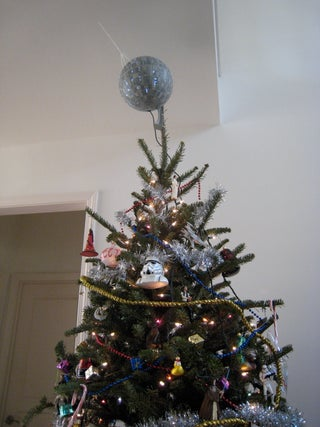 Death Star Christmas Tree Topper 10 Steps With Pictures Instructables