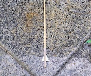 Chopstick Crossbow Arrows