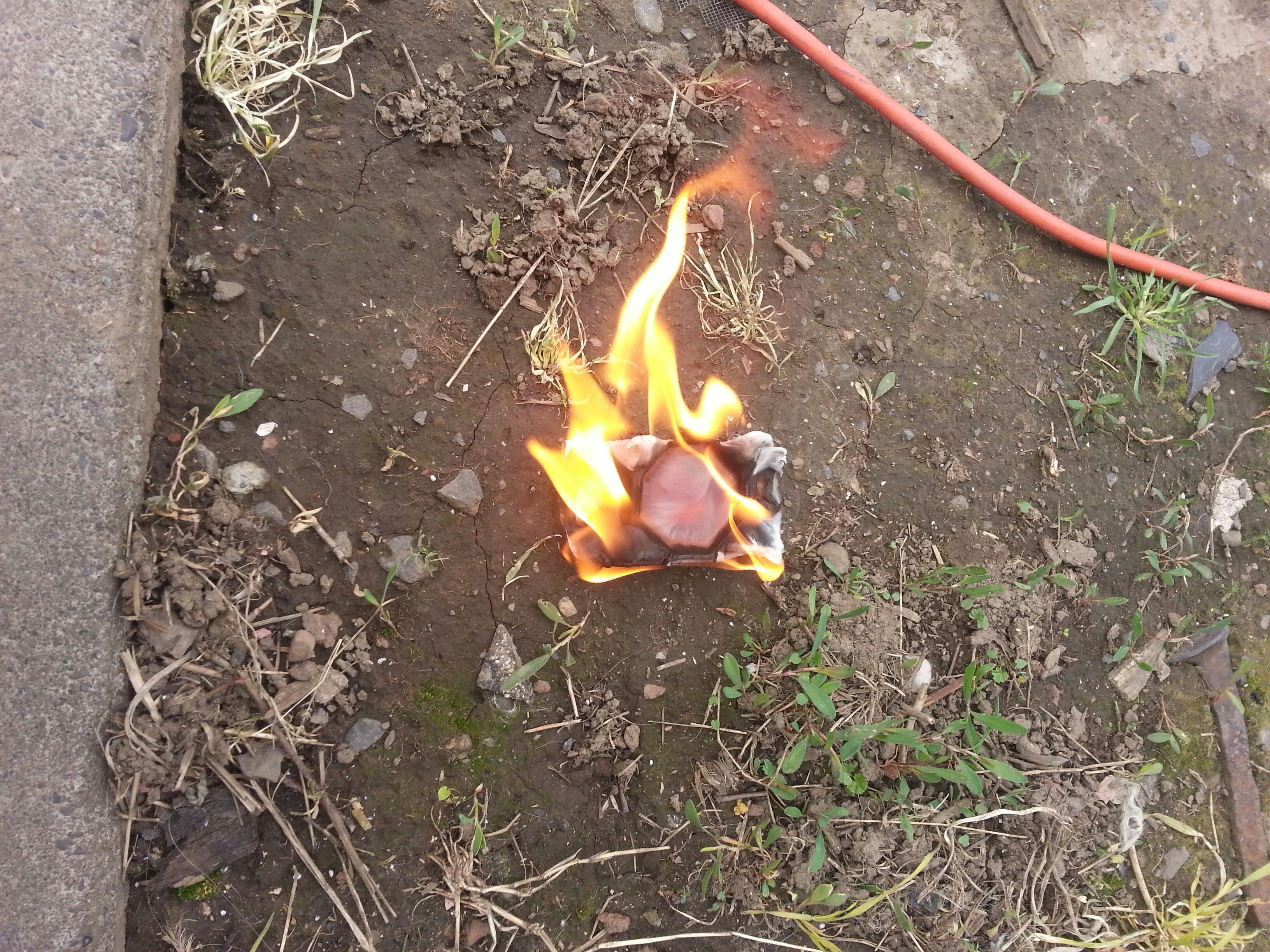 snow/waterproof firestarter