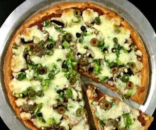 No-Yeast Vegetarian Pizza