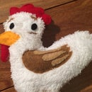 Huevo the Chicken Stuffie: How to Make a Custom Stuffed Animal