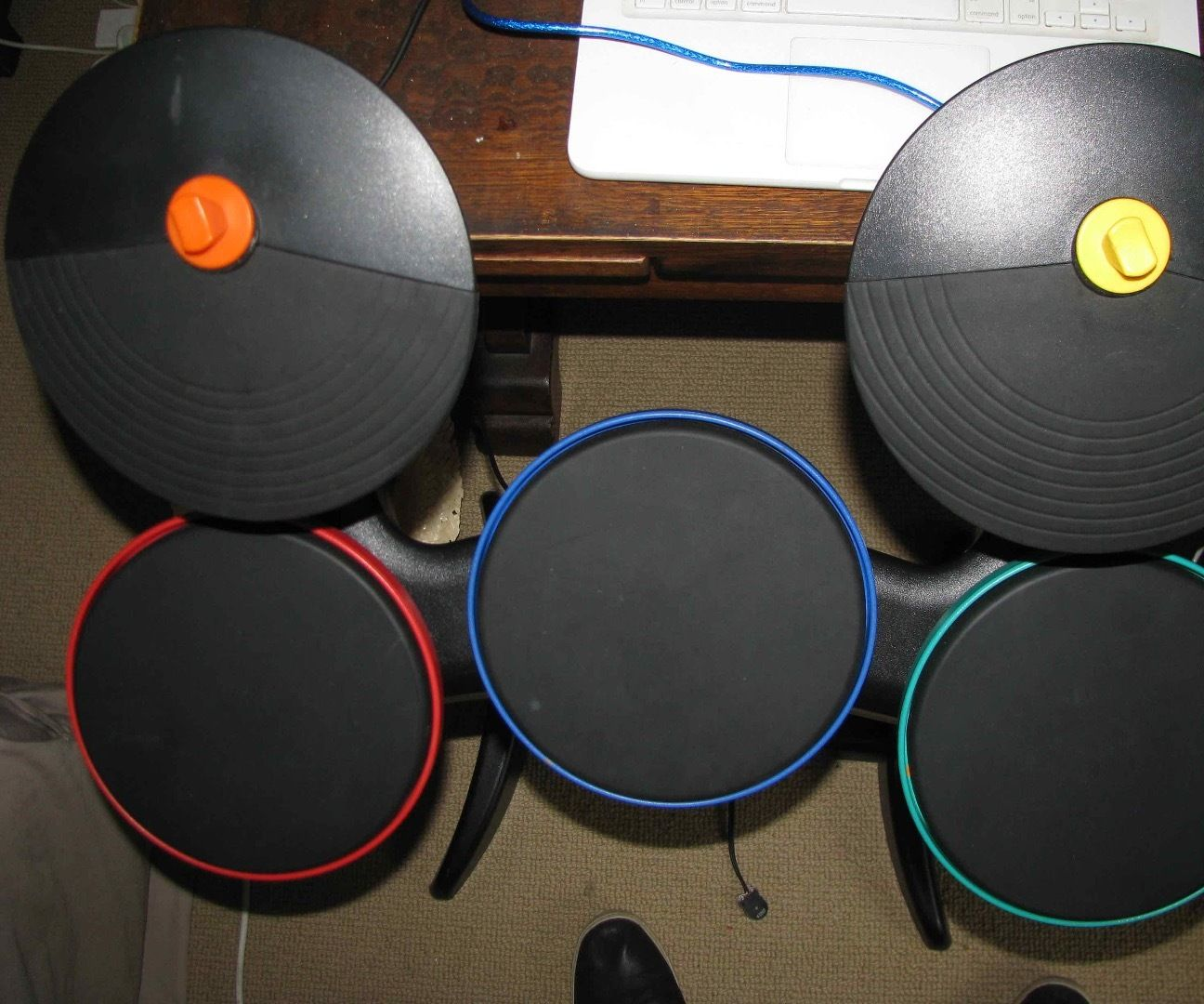 Standalone Electronic Drumkit From Wii Band Hero Kit