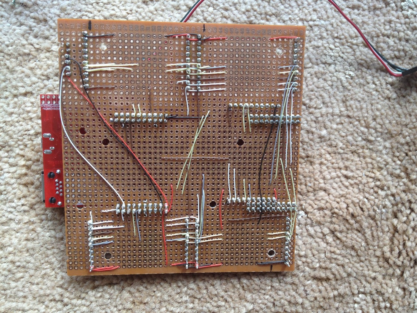 The Backplane Carrier Board