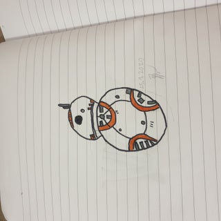 How to Draw BB-8