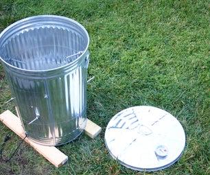 Garbage Can Turkey Smoker