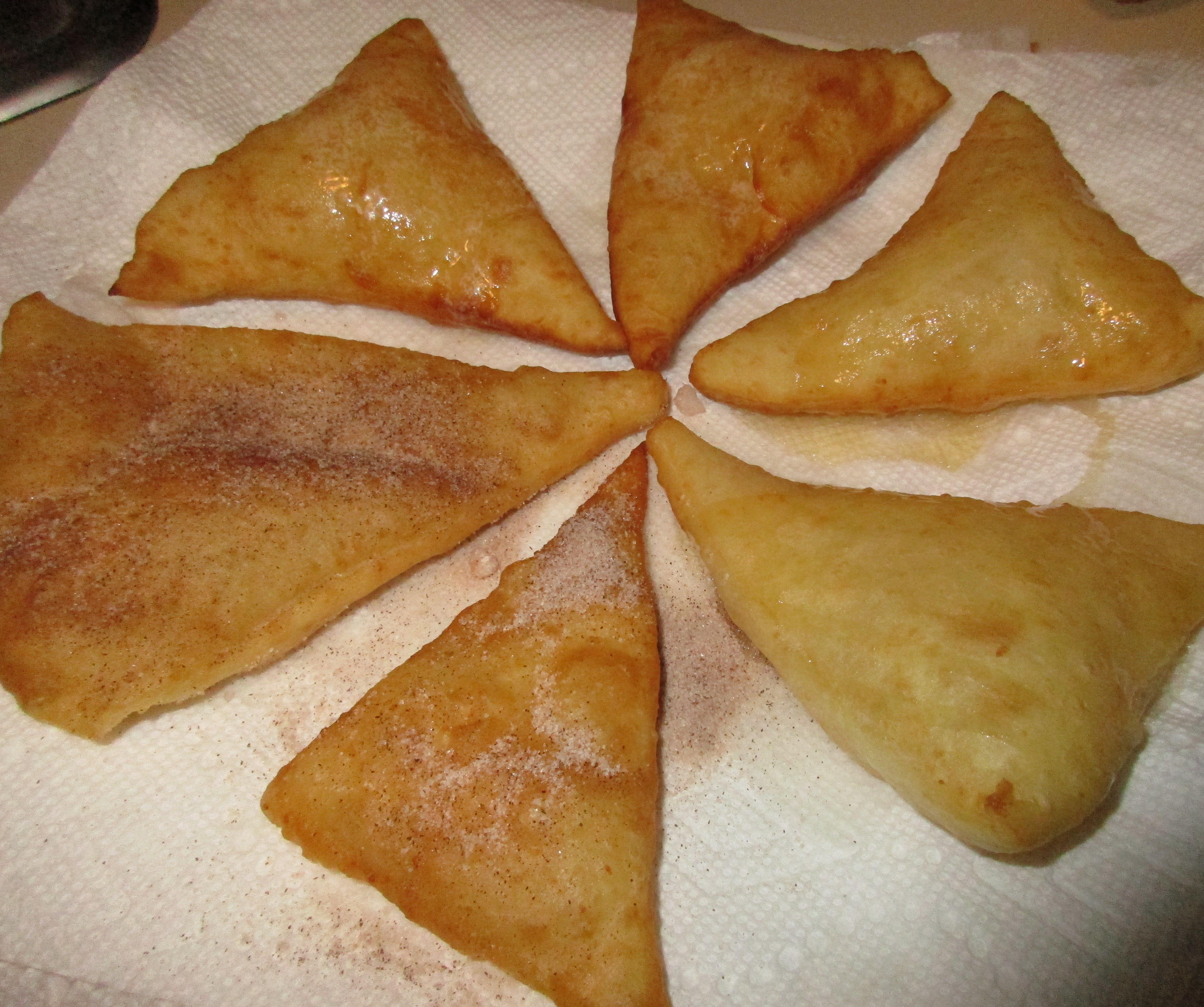 Fry Bread - Sopapilla Style W/yeast