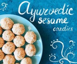 Ayurvedic Sesame Candies