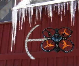 Icicle Buster Drone Attachment
