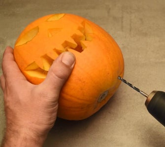 Placing the Pumpkin