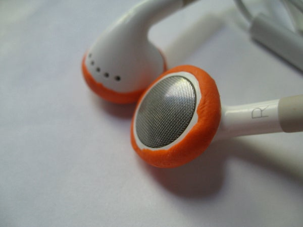 Fix Earbud Headphones With Sugru