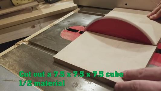 Cut Your Cube Shape