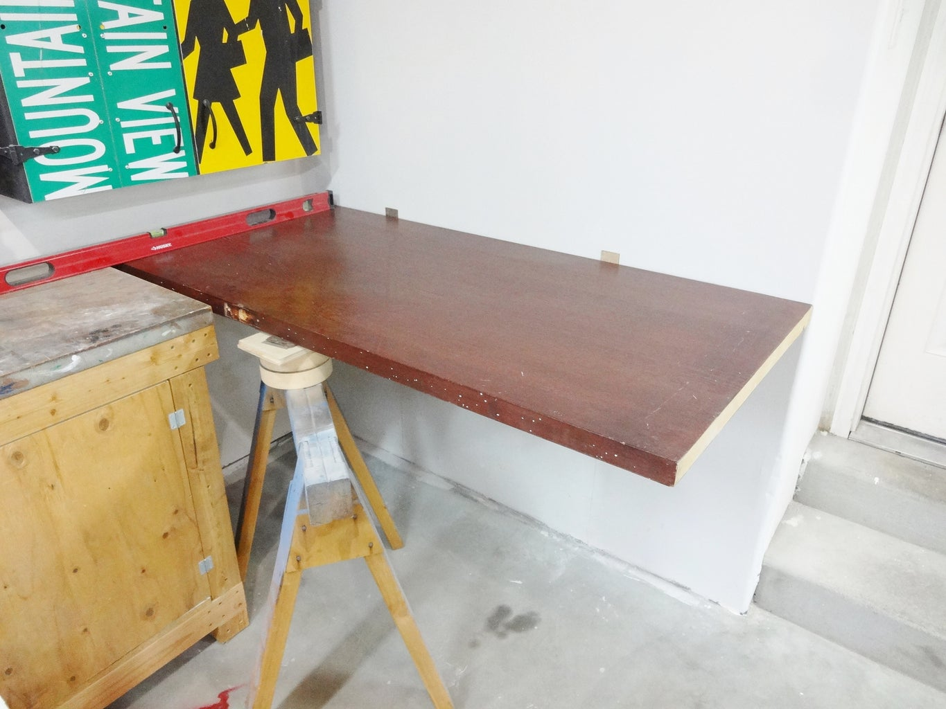 Position the Table Top