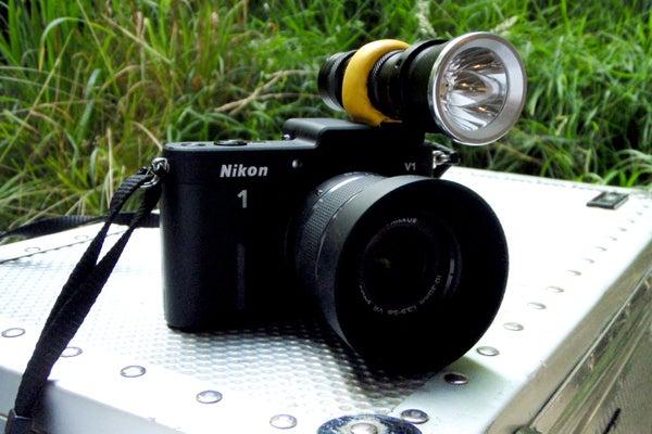 SUGRU-based Flashlight Holder