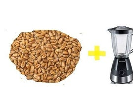 How: Make Flour in a Blender