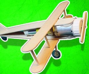 Cute Battery Powered Plane