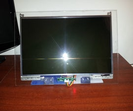 Turn a Dead Laptop Into a Monitor With Plexiglas Stand