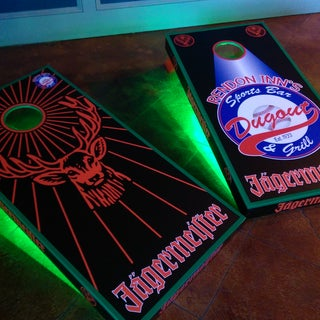 How to Make Classy Cornhole Boards